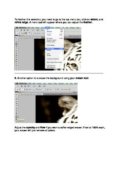 Adobe Photoshop Tutorial: Blending images