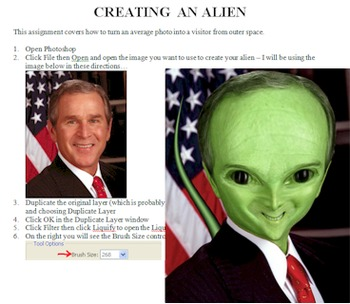 Photoshop Tutorial: Creating an Alien