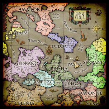 Photoshop tutorial creating an old world map semester lesson by photoshop tutorial creating an old world map semester lesson sciox Gallery