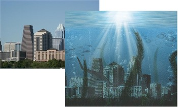 Photoshop Tutorial: Placing a City Under Water