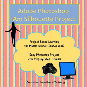 "Adobe Photoshop ""i Am"" Silhouette"