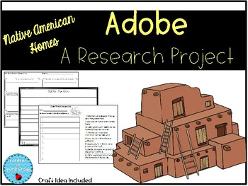 Adobe Pueblos - Native American Home