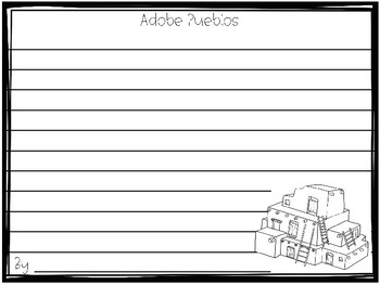 Adobe Pueblos - Native American Home