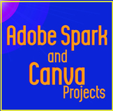 Adobe Spark and Canva Social Media Projects
