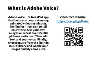 Adobe Voice: Just the Facts