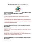 Adolescent Cognitive Development-In-Class Activity