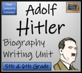 Adolf Hitler - 5th Grade & 6th Grade Biography Writing Activity