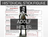 Adolf Hitler Historical Stick Figure (Mini-biography)