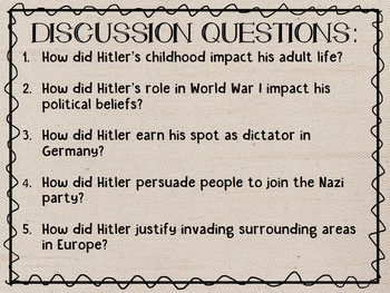 Adolf Hitler & Rise of the Nazi Party PowerPoint Presentation, World War II