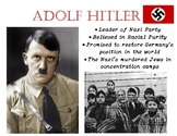 Adolf Hitler & The Holocaust Anchor Chart- WWII