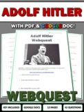 Hitler - Webquest with Key (World War Two) WWII