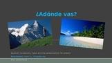 Adonde vas? Spanish 1 Presentation of Vocab for Places Realidades 4A