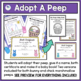 Adopt A Peep Easter Writing Activity
