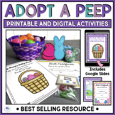 Easter Activities Adopt A Peep Digital Distance Learning Google Slides