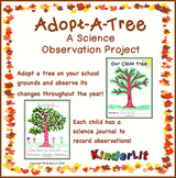 Adopt A Tree Science Observation Project