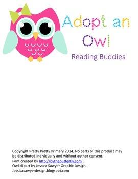 Adopt An Owl: Reading Buddies Sign