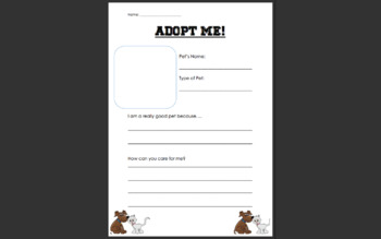Adopt Me!: Introduction to Animal Shelters