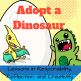 Adopt a Dinosaur Literacy Activity and STEAM