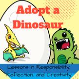 Adopt a Dinosaur Literacy Activity and STEAM