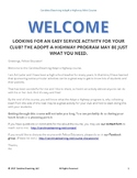 For Club Sponsors: Adopt a Highway Minicourse