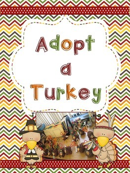 Adopt a Turkey: a Thanksgiving Writing Craftivity