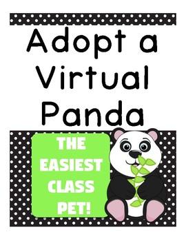Adopt a Virtual Panda: The Easiest Class Pet