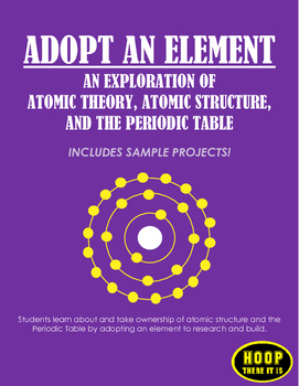 Adopt an Element and Bohr Model Project