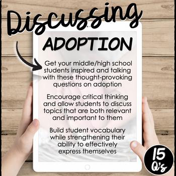 Adoption- Conversation Starters