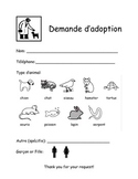 Adoption Request Form for Play Centers