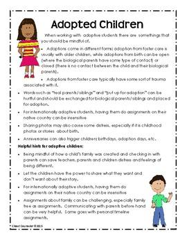 Adoption and Trauma Handouts