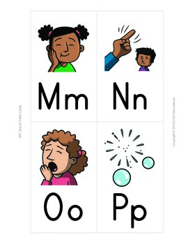 ABC Phonics Flash Cards & Poster Set with Activities (Set 1)