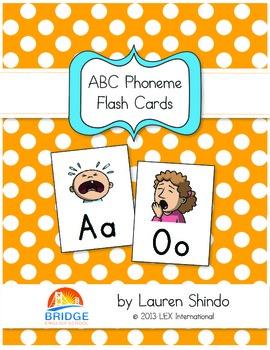 ABC Phonics Flash Cards & Poster Set with Activities (Set 1)