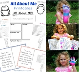 All About Me Theme Printables
