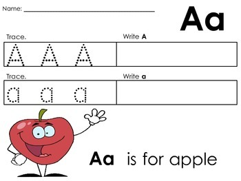 53 Sight Words - Trace, Write, Spell