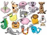 Adorable Animal Clipart Graphics Clip Art