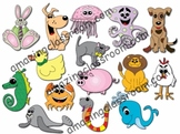 Adorable Animal Clipart Graphics Clip Art