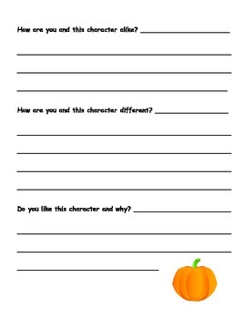 Adorable At Home Pumpkin Book Project