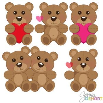 Clipart - TeddyBears