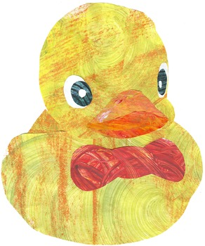 Adorable Ducks -- Colorful Clip Art for Your Spring Bulletin Board