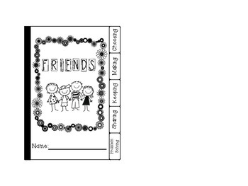 Adorable Friendship Flipbook