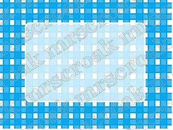Labels: blue gingham, 30 per page