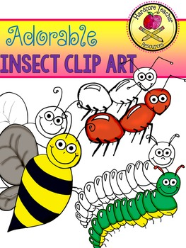 Adorable Insect Clip Art