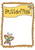 Adorable Insect Posters for Class Groups