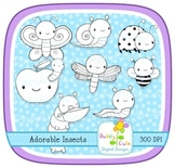 Adorable Insects Stamps