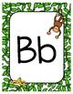 Classroom Decor Adorable Monkey Alphabet Posters