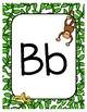 Classroom Decor Adorable Monkey Alphabet Posters