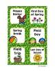 Classroom Decor Adorable Monkey Calendar Set Jungle