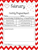 Adorable Monthly Progress Reports