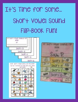 Adorable No-Prep Short Vowel Sounds Flip-Book