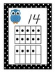 Owl Number Posters 0-20 With Ten Frames